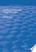 Handbook of Plant and Fungal Toxicants