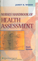 Cover of Nurses' Handbook of Health Assessment