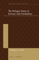The Refugee Status of Persons with Disabilities