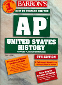 Barron s How to Prepare for the Ap United States History Advanced Placement Examination Book PDF