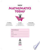 New Mathematics Today book 8