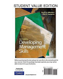 Developing Management Skills  Student Value Edition