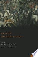 Primate Neuroethology Book