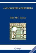 Pdf Analog Design Essentials Telecharger