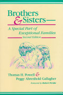 Brothers   Sisters  a Special Part of Exceptional Families