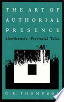 The Art of Authorial Presence