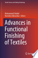 Advances in Functional Finishing of Textiles Book