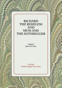 Richard the Redeless and Mum and the Sothsegger Pdf/ePub eBook