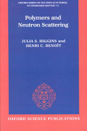 Polymers and Neutron Scattering