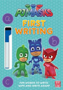 PJ Masks  First Writing Wipe Clean