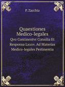 Quaestiones Medico-legales [Pdf/ePub] eBook