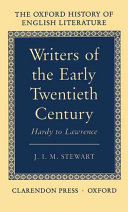Writers of the Early Twentieth Century
