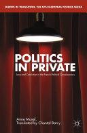 Politics in Private Pdf/ePub eBook