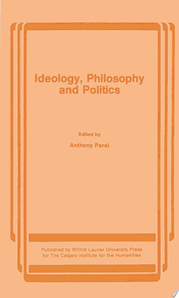Ideology, Philosophy, and Politics