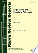 Engineering And Structural Adhesives Book PDF