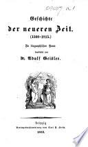 Geschichte der alten und mittleren Zeit. In biographischer Form (Geschichte der neueren Zeit.-Geschichte der neuesten Zeit.).