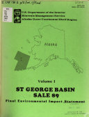 Proposed St. George Basin, sale 89