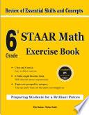 6th Grade STAAR Math Exercise Book Book