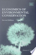 Economics of Environmental Conservation Book