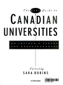 The Real Guide to Canadian Universities Book