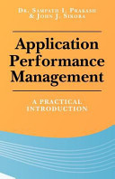 Application Performance Management
