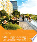 Site Engineering For Landscape Architects PDF