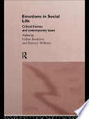 Emotions in Social Life Book