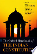 The Oxford Handbook Of The Indian Constitution Book