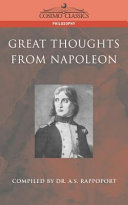 Great Thoughts from Napoleon
