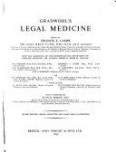 Gradwhol s Legal Medicine