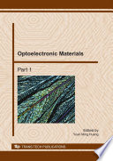 Optoelectronic Materials Book PDF