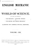 Pdf English Mechanic and World of Science