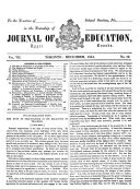 The Journal of Education for Ontario ...
