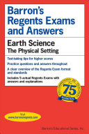 Barron's Regents Exams and Answers: Earth science-- the physical setting
