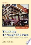 Thinking Through The Past PDF