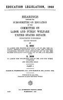 Education Legislation  1968