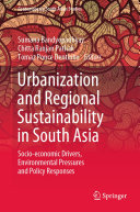 Urbanization and Regional Sustainability in South Asia