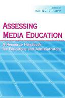 Assessing Media Education