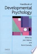 Handbook of Developmental Psychology