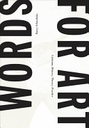 Words for Art Book
