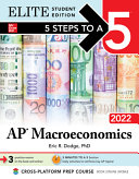 5 Steps to a 5: AP Macroeconomics 2022 Elite Student Edition