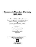 Advances in Plutonium Chemistry, 1967-2000
