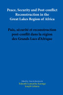 Pdf Peace, Security and Post-conflict Reconstruction in the Great Lakes Region of Africa Telecharger