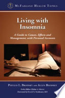 Living with Insomnia Book