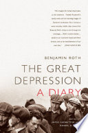 The Great Depression A Diary