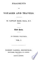 Fragments of voyages and travels : third series