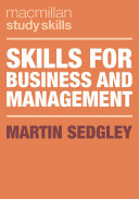 Skills for Business and Management