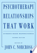 Psychotherapy Relationships That Work Book PDF