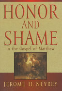 Pdf Honor and Shame in the Gospel of Matthew