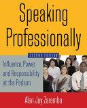 Speaking Professionally